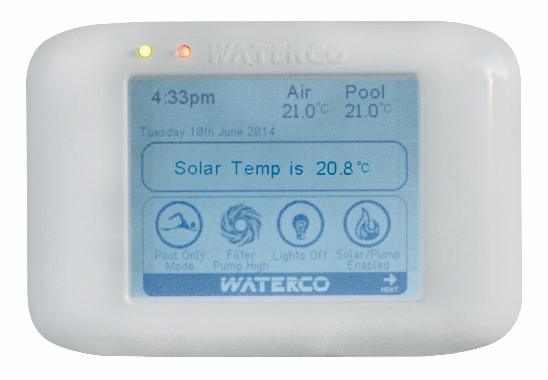 Waterco Aquamaster Pool and Spa Automation System - Infloor Pool